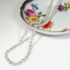 アコヤ真珠ベビーパールバロックネックレス